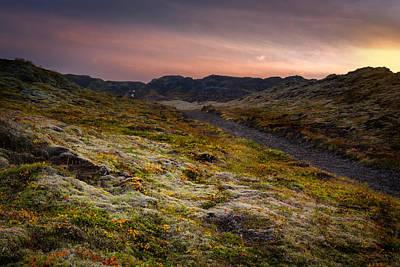 Photograph - Iceland Sunset by Chris McKenna