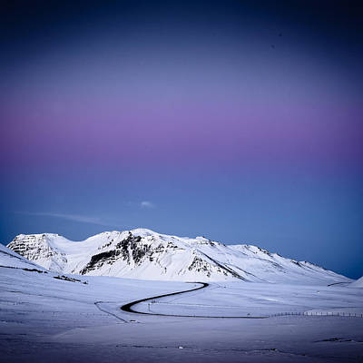 Photograph - Iceland Twilight by Peter OReilly