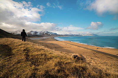 Iceland Wall Art - Photograph - Iceland View by Larry Marshall