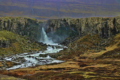Photograph - Iceland Waterfall # 3 by Allen Beatty