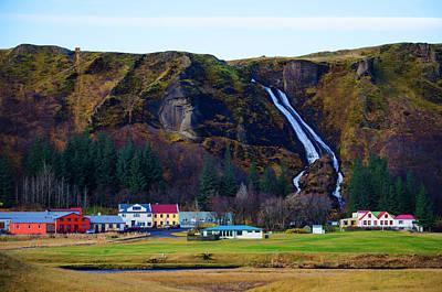 Photograph - Iceland Waterfall 2 by Deborah Smolinske