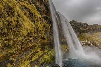 Photograph - Iceland Waterfall 2 by Kathy Adams Clark