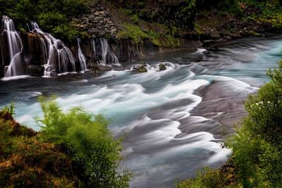 Photograph - Iceland Waterfall II by Tom Singleton