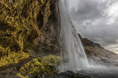 Photograph - Iceland Waterfall by Kathy Adams Clark