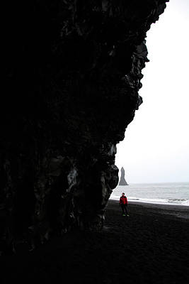 Photograph - Icelandic Beach Walk by Perggals - Stacey Turner