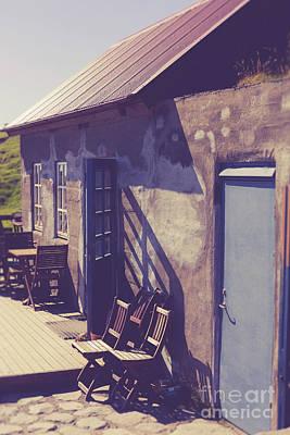 Photograph - Icelandic Cafe by Edward Fielding