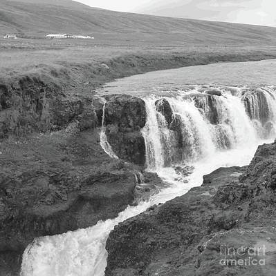 Photograph - Icelandic Falls by Barbie Corbett-Newmin