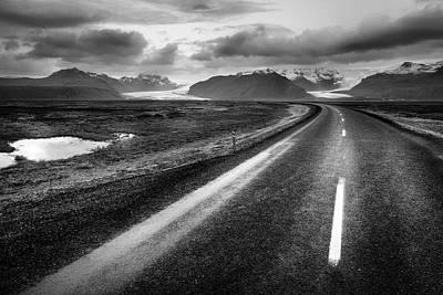 Photograph - Icelandic Glaciers by Alexey Stiop