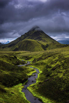 Icelandic Highlands Art Print