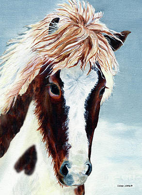 Painting - Icelandic Mare by Shari Nees