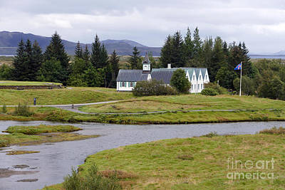 Photograph - Icelandic National Park by Catherine Sherman