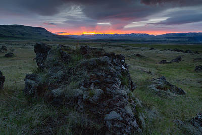 Photograph - Icelandic Sunrise I by Stuart Gordon