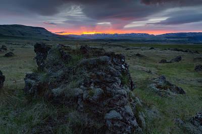 Photograph - Icelandic Sunrise I by Stuart Gordon