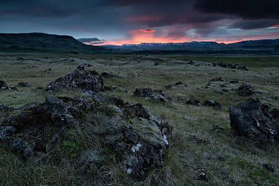 Photograph - Icelandic Sunrise IIi by Stuart Gordon