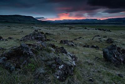 Photograph - Icelandic Sunrise IIi by Stuart Gordon