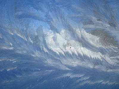 Photograph - Icescapes 1 by Rhonda Barrett