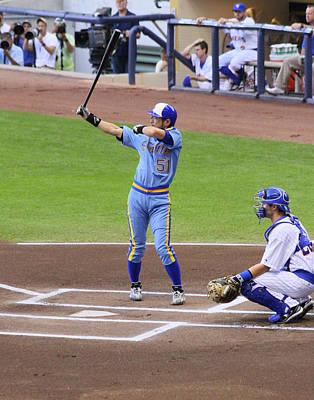 000 Hits Photograph - Ichiro by Steve Bell
