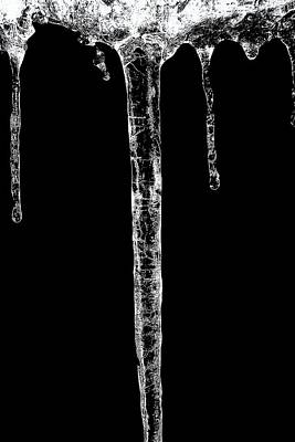 Photograph - Icicle by Karen Stahlros