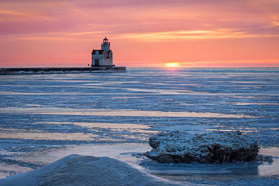 Photograph - Icing On The Lake by Bill Pevlor