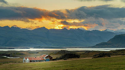Photograph - Iclandic Farm  by Adrian O Brien