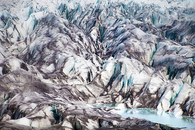 Photograph - Iclandic Glacier by William Beuther