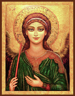 Icon Angel Art Print