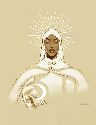 Drawing - Icon by Carey Muhammad