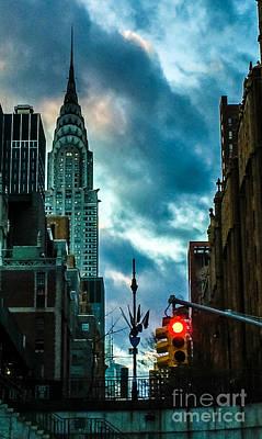 Photograph - Icon - Chrysler At Dusk by Miriam Danar
