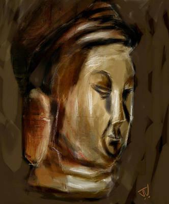 Digital Art - Icon by Jim Vance