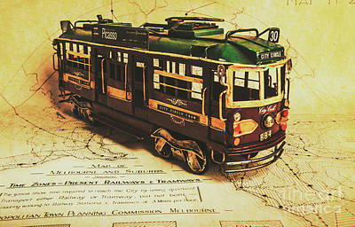 Travelling Wall Art - Photograph - Icon Melbourne Tram Art by Jorgo Photography - Wall Art Gallery