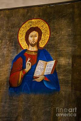 Icon Of Jesus Art Print