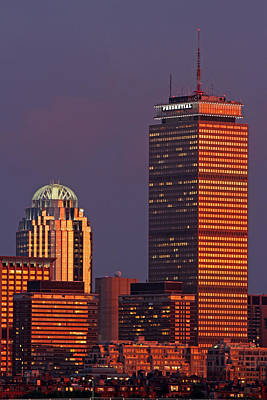 Print featuring the photograph Iconic Boston by Juergen Roth