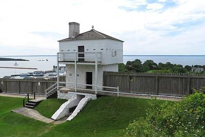 Photograph - Iconic West Blockhouse by Keith Stokes