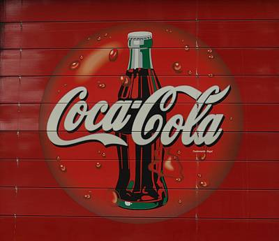 Coca-cola Signs Photograph - Iconic by Fraida Gutovich