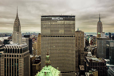 Photograph - New York Icons by M G Whittingham