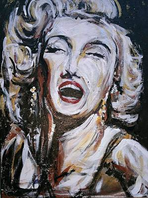 Marylin Painting - Iconic by Pedro  Flores