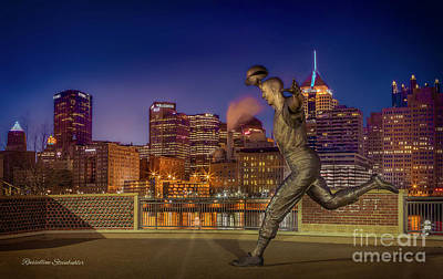 Mazeroski Photograph - Iconic Pittsburgh by Russelline Steinbuhler