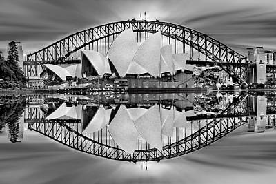 Reflections Digital Art - Iconic Reflections by Az Jackson