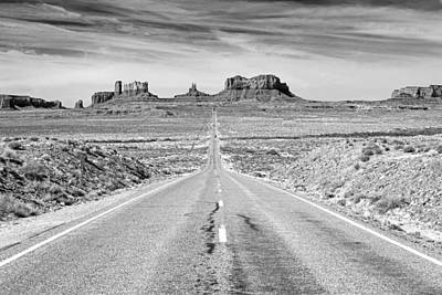 Photograph - Iconic Road Into Monument Valley. by Johnny Adolphson