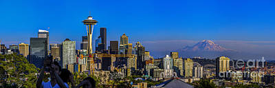 Iconic Seattle Skyline Original