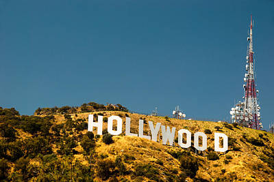 Iconic Shot - Beachwood Canyon Art Print