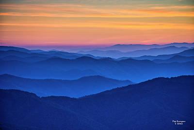 Photograph - Iconic Smoky Mountain Sunrise by Peg Runyan
