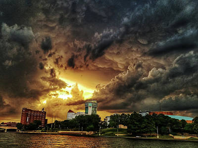Photograph - Ict Storm - From Smrt-phn by Brian Duram