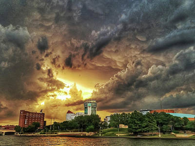 Photograph - Ict Storm - From Smrt-phn L by Brian Duram