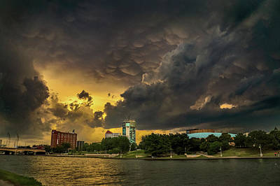 Photograph - ict Storm - High Res by Brian Duram