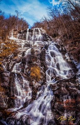 Photograph - Icy Amicalola Falls by Rikk Flohr