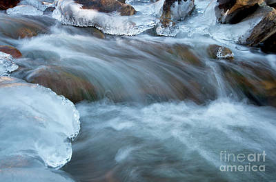 Photograph - Icy Big Thompson River by Ronda Kimbrow