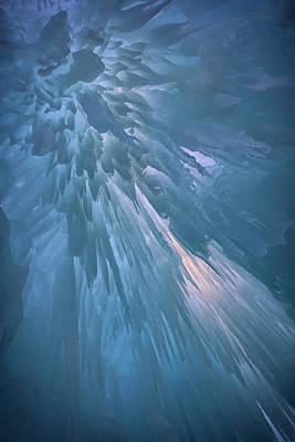 Photograph - Icy Blue by Rick Berk
