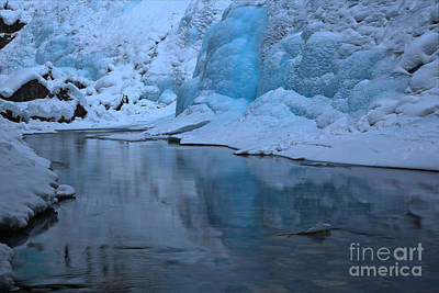 Photograph - Icy Blue Tranquility by Adam Jewell