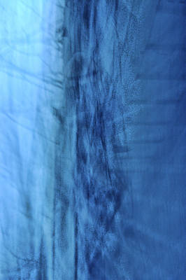 Photograph - Icy Blues by Heather S Huston
